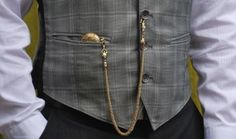 A pocket watch and a waistcoat is a popular choice for weddings and formal occasions.  #menswear #mensstyle #mensfashion #fashion #style #pocketwatch #waistcoat