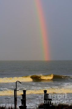 Rainbow over Folly Beach, SC