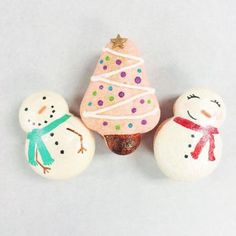 Holiday French Macaroons