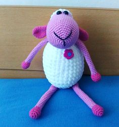 Crochet sheep toy by KatkaHandMade on Etsy                                                                                                                                                     More