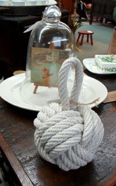 Nautical rope knot.