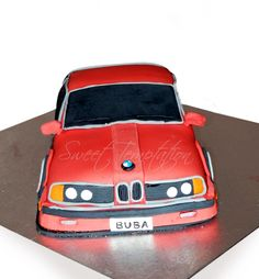 bmw cake Bmw Cake, Cupcake Cakes, Cupcakes, Birthday Parties, David, Sweets, Party, Sons, Anniversary Parties