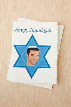 Instagrandmaw Drake Hanukkah Card