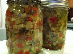 canning zucchini relish