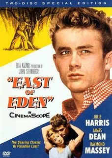 don't watch the movie, read the book. but you can look at james dean for now.
