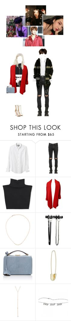 """Christmas"" by beyzalwaysperf ❤ liked on Polyvore featuring Banana Republic, RtA, Michael Kors, Versace, Jacquie Aiche, Mark Cross and Loren Stewart"