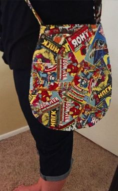 #FandomFriday: Awesome #Avengers #DIY Crafts - Avengers Bag