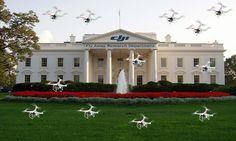 Keeping it light and fun... #humor #whitehouse #DJI #phantom... :)