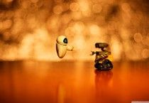 Wall E And Eve Wallpaper HD wallpaper - Wall E And Eve Wallpaper