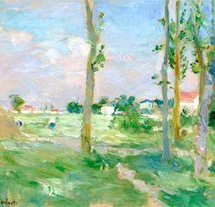Berthe Morisot 1841 - 1895 Paysage