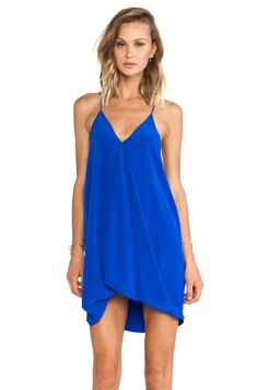 Assali Lavinia Dress in Cobalt #REVOLVEclothing