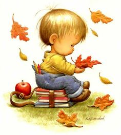 Ruth Morehead poster, addition to the collection? For my future little boy Baby Pictures, Cute Pictures, Holly Hobbie, Cute Images, Digi Stamps, Cute Illustration, Autumn Illustration, Precious Moments, Vintage Cards