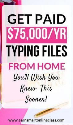 Working from home as a transcriptionist can be a great way to supplement your income. Most companies don't require experience and this can also be a great side hustle for work-at-home moms. Check this post out to find out more! #transcription #transcriptionjobs #workfromhome #makemoneyonline #makemoneyfromhome #getpaidtotype #sidehustle #workathomejobs #earnsmartonlineclass #workingfromhome
