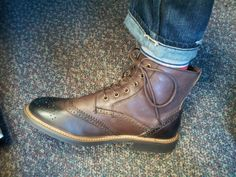 The Dapper Docent:  Oren Lace-up Boots