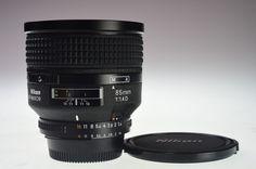 NIKON AF NIKKOR 85mm f/1.4D Excellent+ #Nikon
