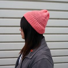 Lazy Day Hat in Salmon