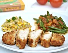 Buttermilk Coated Turkey with Southern Style Creamed Corn Recipe | Lilinha Angel's World - UK Parenting Lifestyle Blog
