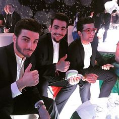 2015 Eurovision was defiantly the year of hot acts with mans zelmerlow and these representing Italy called il volo