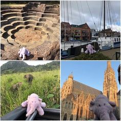 Lumpina the travel elephant Travel Toys, His Travel, Number Of Countries, Future Travel, Trip Planning, Netherlands, Singapore, Mount Rushmore, Bali