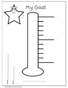 Progress Monitoring (bring to work) Student Goals, Student Data, Data Folders, Student Self Assessment, Reading Intervention, Reading Fluency, Goal Charts, Preschool Special Education, Teaching Skills