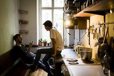 Nathan Cowen & Jacob Klein (haw-lin) — Graphic Designer, Apartments, on the road, Berlin-Kreuzberg