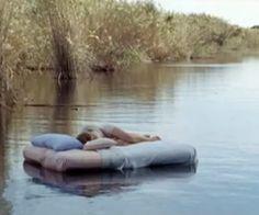 sleeping on the lake