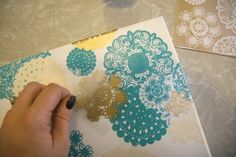 30 Doily crafts. Want to do version of this for Valentine's Day.