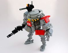Armor unit_A.12 | Heavy armored mecha suit. Poseable and fit… | Flickr