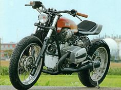 Oil in the Air... a BMW R1150G/7 Scrambler in the making - ADVrider