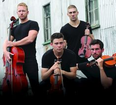 In Well-Strung: The Singing String Quartet, Hunky Gay Stars Play Britney, Mozart