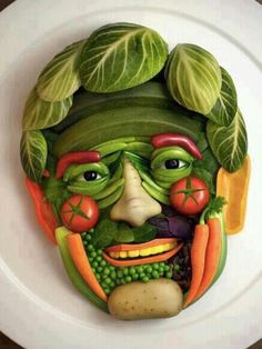 Dont forget to eat your veggies