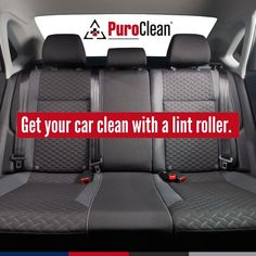 No need to take your car to get vacuumed. Keep a lint roller handy for quick clean ups of crumbs and pet hair. Car Cleaning Hacks, House Cleaning Tips, Clean Up, Clean House, Car Seats, Hair, Strengthen Hair, Household Cleaning Tips