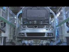 Incredible video of the Volkswagen production plant, when building the Mark 5 Golf / Rabbit.