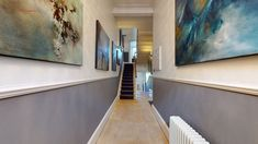 Awesome House, Dream Houses, House Tours, Amsterdam, Home Goods, Stairs, London, 3d, Explore