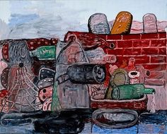 Philip Guston, East Tenth, 1977. Oil on canvas, 203x255cms. Collection: Art Gallery of New South Wales