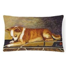 Carolines Treasures Chihuahua I See Me Decorative Outdoor Pillow - MH1052PW1216