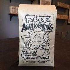 Rude Awakening - The Kid in Me Coffee Blends Blended Coffee, My Coffee, Awakening, The Creator, Cool Art, The Cure, Fine Art, Cool Stuff, Kids