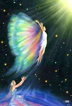 art cosmic wings