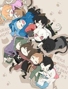 Kagerou project as chibis❤ Anime Chibi, Kawaii Anime, Manga Anime, Anime Art, Anime Group, Fanart, K Project, Kagerou Project, Spirit Animal