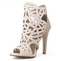 Laser Cut Geometric Heels So cute and perfect to jazz up any outfit! Brand new and never worn. Size 10. No trades!! 04101640gws Paprika Shoes Heels