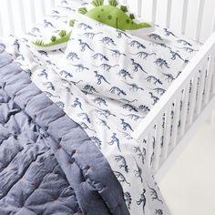 Dinosaur Crib Bedding, Crib Bedding Boy, Dinosaur Bedroom, Toddler Bedding Boy, Toddler Pillowcase, Baby Boy Rooms, Baby Bedroom, Kids Rooms, Toddler Sheet Set