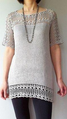 Fabulous Crochet a Little Black Crochet Dress Ideas. Georgeous Crochet a Little Black Crochet Dress Ideas. Crochet Fabric, Knitted Poncho, Crochet Cardigan, Crochet Lace, Crochet Bodycon Dresses, Black Crochet Dress, Crochet Capas, Mode Cool, Jupe Short