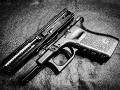 Glock19 gen3, motyla noga