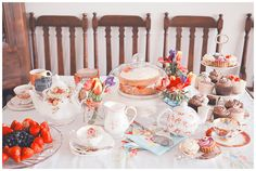 blog ♥ BELLE STUDIO ♥:  Victorian Tea Party