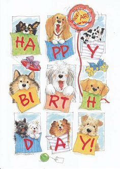 "Greeting Card Birthday Suzy's Zoo ""Happy Birthday"" by Greeting Cards ..."