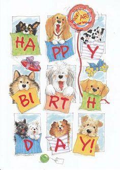 "Greeting Card Birthday Suzy's Zoo ""Happy Birthday"" by Greeting Cards ..."