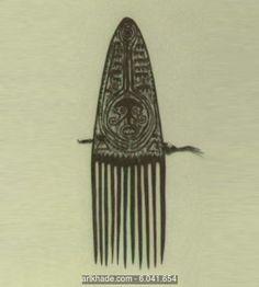 A Comb, Papuan Gulf, Papua New Guinea