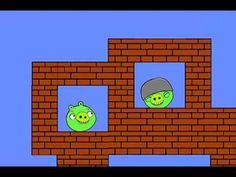 Angry Birds meet Super Mario--funny