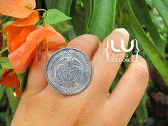 Anillo moneda antigua   #Lujoyeriaaccesorios #accesorios #aretes #collares #pulseras #joyería #accesorios #moda #fashion #Colombia #medellin