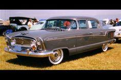 1956 Nash Ambassador Super 4-Door Sedan